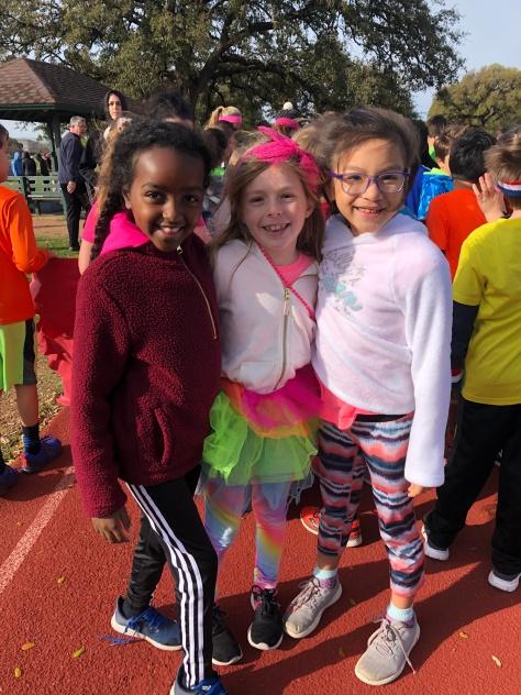 fun run tate girls