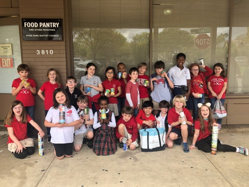 whole group pic food pantry